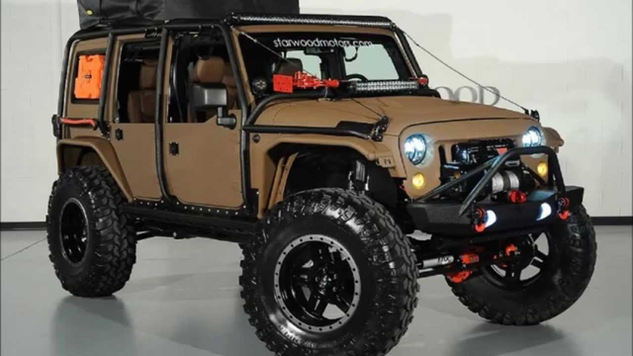 Lifted jeeps wranglers