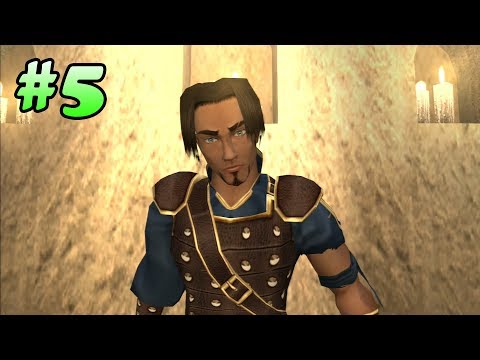 Prince of Persia: The Sands of Time Walkthrough - Part 5 (All Life Upgrades) (PS3 HD)