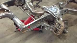 Corvette C3 Birdcage Rust Repair Part 5