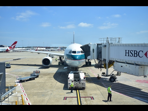 Economy Class | Flight Review #18 | Cathay Pacific CX162 Sydney to Hong Kong | Airbus A330-300