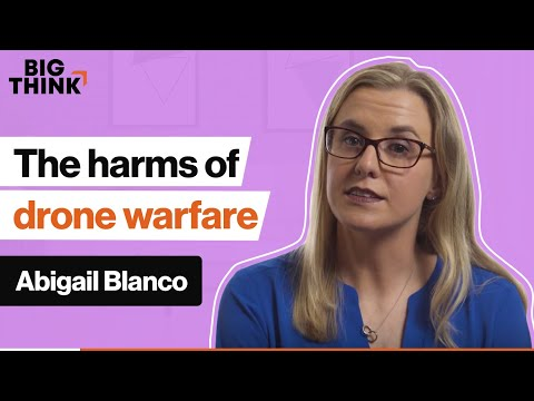 Does drone warfare reduce harm? Maybe not. | Abigail Blanco | Big Think