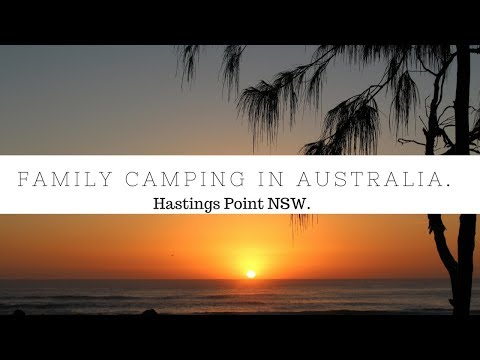 Our first camping holiday | HASTINGS POINT North Star Holiday Resort | Family Camping Australia