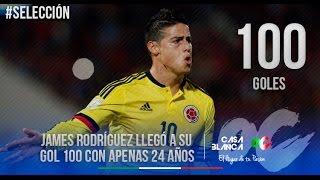 Todos los Goles de James Rodriguez en la selección Colombia CRACK!