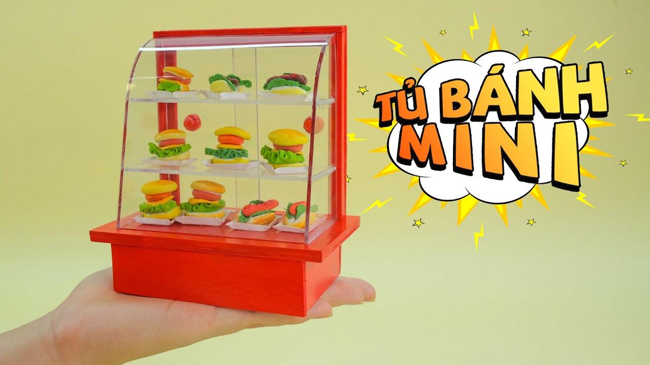 Đồ Chơi Mini – Cách Làm Tủ Đựng Bánh Mini Siêu Chất | Handi Work