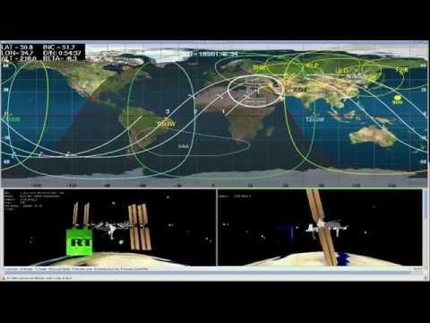 New Space Station crew blasts off in upgraded Soyuz spacecraft