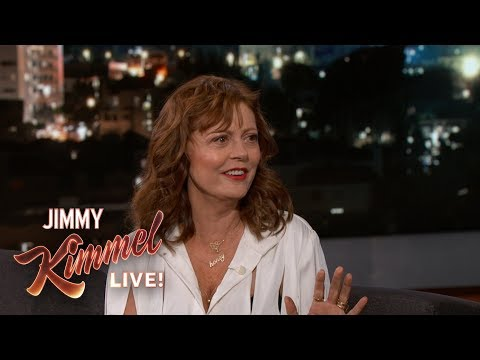 Susan Sarandon on Safari in Africa