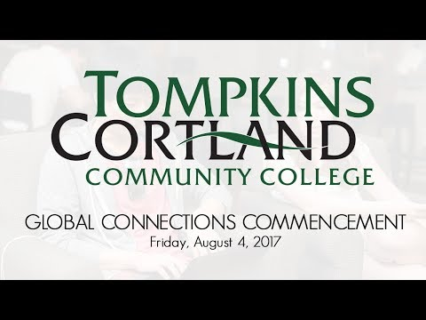 2017 Global Connections Commencement