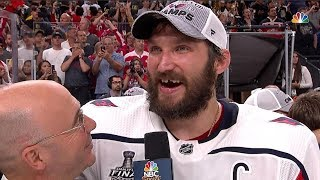 Ovechkin on winning Stanley Cup