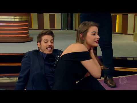 Fábio Porchat se diverte com Rayanne...