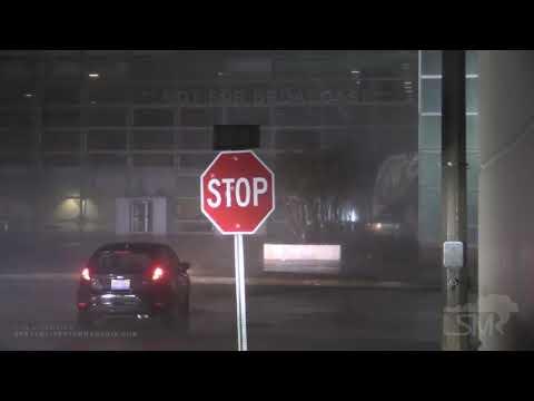 08-27-2020 Lake Charles, LA Hurricane Laura - Extreme Eyewall Footage - Flying Debris & Devastation