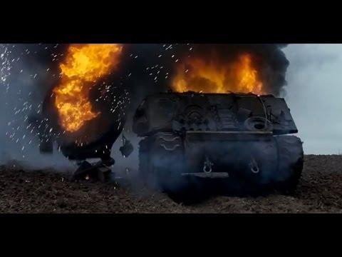 """Fury"" Film M4A4 Sherman Tank Rebuild after Tiger 1 Hit. Part 1"