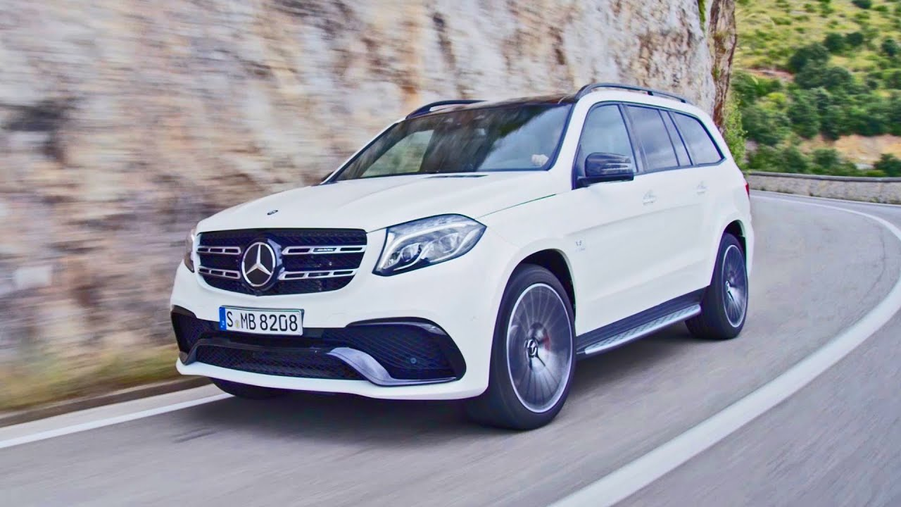 2016 mercedes gls 63 amg footage youtube. Black Bedroom Furniture Sets. Home Design Ideas