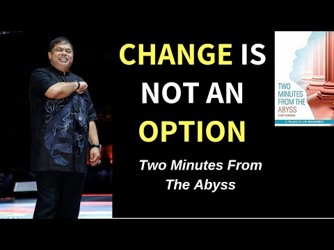 Vijay Eswaran | Change Is Not An Option (Two Minutes from the Abyss)