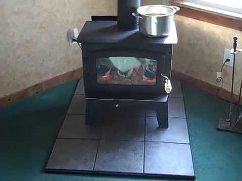 Drolet wood stove - Drolet Wood Stove - YouTube