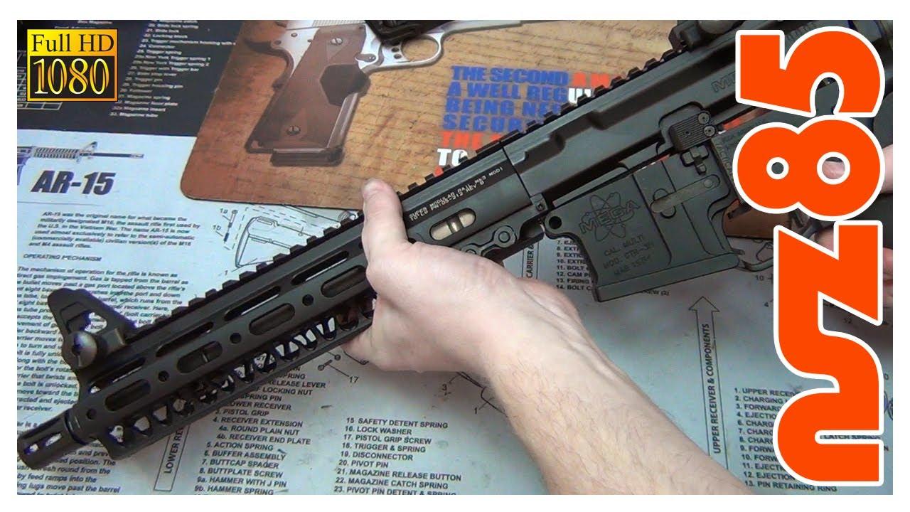 AR-15 - Geissele Mk3 Rail Installation 10