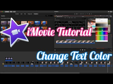 how to add text to imovie 2017