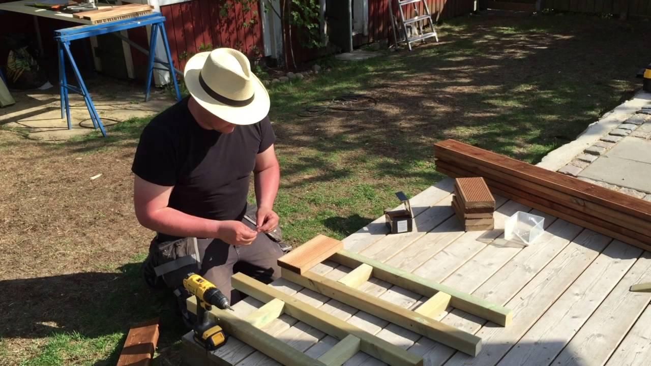 Bygga Trall Balkong. Affordable Nu Terstr Bara Att Bygga Trall ... : träplattor till balkong : Inredning