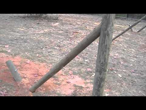 Vineyard Trellis Construction