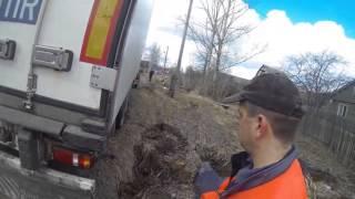видео Эвакуация автомобиля Вольво