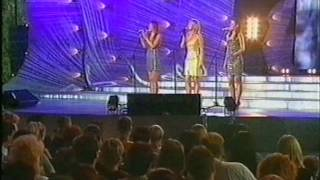 ''A'lo'' group ''New Wave'' -2003 Uzbekistan (1-тур  ''Tell Him''Karina,Kristina,Sveta)