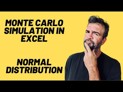 Monte Carlo Simulation Formula in Excel - Tutorial and Download