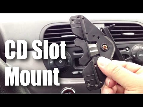 Cd Slot Smartphone Phone Gps Holder Mount For Your Car Fiat 500