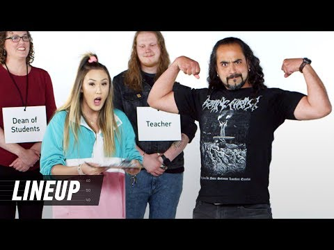 LaurDIY Tries to Match the Job to Person | Lineup | Cut