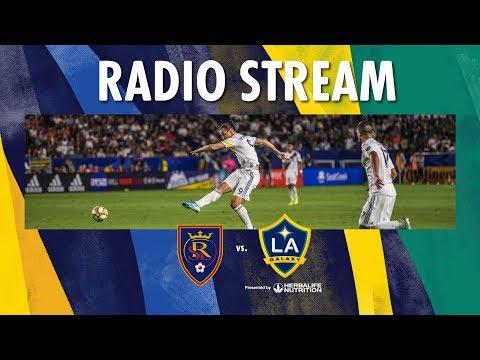 LA Galaxy At Real Salt Lake | Radio Live Stream