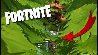 FORTNITE BUG: I'm stuck in a tree!