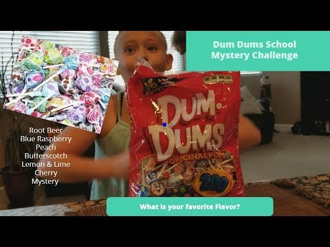 Dum Dums Lollipop Sucker