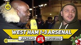 West Ham 1-3 Arsenal | Pellegrini Is Clueless & He's Got To Go!! (West Ham Fan TV)