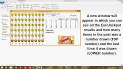 !!Win the Eurojackpot!! Eurojackpot Results Statistics Wizard