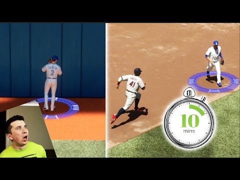Can I Make One Play In Baseball Last 10 Whole Minutes? MLB The Show 17 Challenge