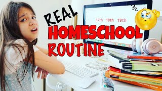 Our NEW HOMESCHOOL Morning Routine | Emily and Evelyn