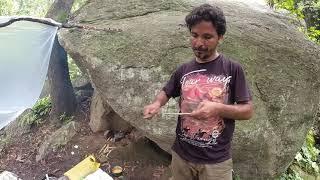 Solo Camping India    Dhaŗmpur Jungle Mountain Tour Part-1