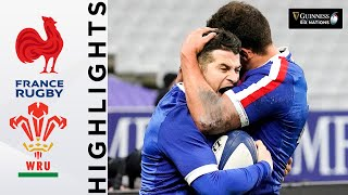 France V Wales - HIGHLIGHTS   Incredible Match Won In Final Play!   2021 Guinness Six Nations