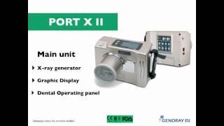 PORT X II   портативный высокочастотный рентгеновский аппарат ¦ GENORAY Ю  Корея(, 2016-10-16T05:43:39.000Z)