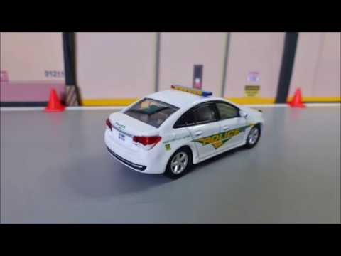 Greenlight Chevrolet Cruze Military Police U S Army Youtube