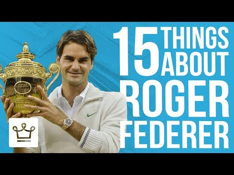 15 Things You Didn't Know About Roger Federer