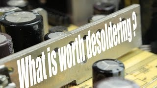 What is worth desoldering from old electronics  DIY Fume Extractor