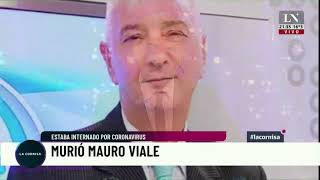 Murió Mauro Viale. Estaba internado por coronavirus.