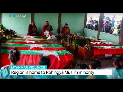 Myanmar Violence: More people killed in northern Rakhine state
