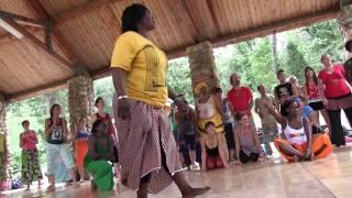 Djeneba Sako stars in some Camp Fareta 2013 madness