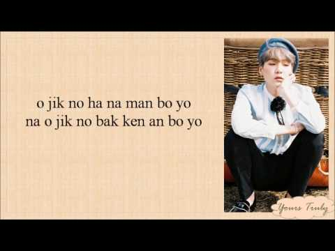 BTS (방탄소년단) – HOLD ME TIGHT (잡아줘) EASY LYRICS