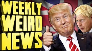 Trump Ambushed Mourning Family With Son's Killer - Weekly Weird News