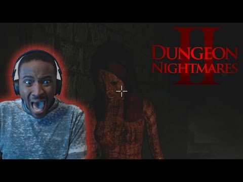 PANIC ATTACK!! | MY LOUDEST SCREAMS EVER! | Dungeon Nightmares 2