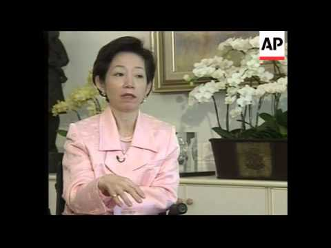 Exclusive interview with Taiwan's First Lady ahead of US visit