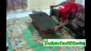 Folding Japanese Table - The Fazlan Craftmaster