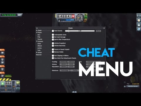 How To Enable Debug/Cheat Menu 2018 | Kerbal Space Program Enhanced Edition  (KSP) - PS4 & Xbox One