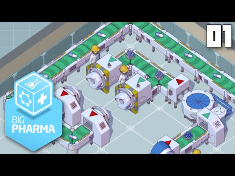 """HERMITECH™ MAKING DRUGS!!!"" - Big Pharma Part 01 - 1080p HD PC Gameplay Walkthrough"